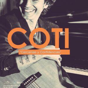 Colaboración con Coti en Badajoz – Teatro López de Ayala